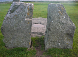 stones and slab, Stones of Stenness, Mainland Orkney